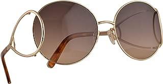 CE124S Sunglasses Gold Blonde Havana w/Brown Gradient Lens 60mm 736 CE 124S