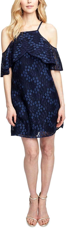 Rachel Rachel Roy Womens Lace Cold Shoulder Party Dress