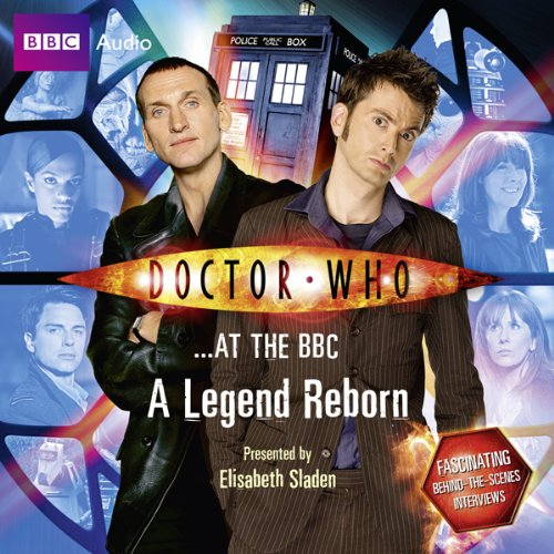 Doctor Who at the BBC: A Legend Reborn audiobook cover art
