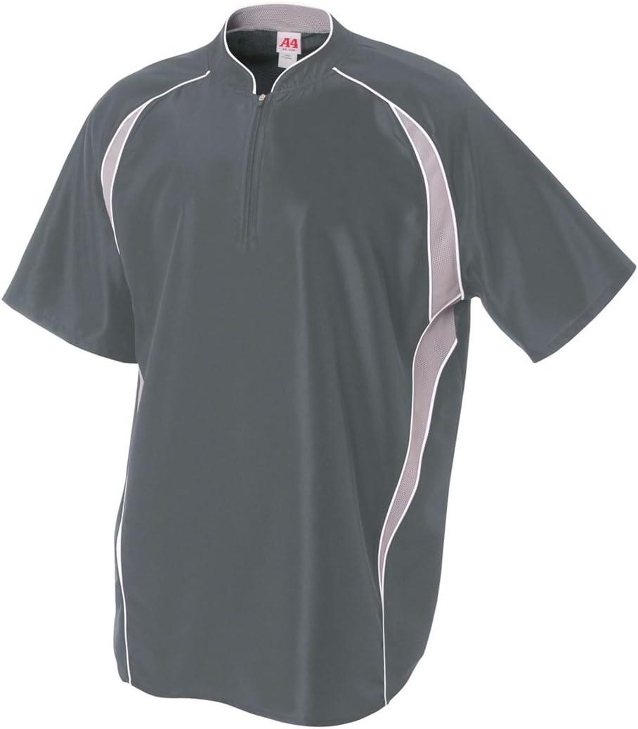 Baseball Softball 1 4 Zip 6 Jacket Warm-Up Windbreaker Max 53% OFF 2-Color Low price
