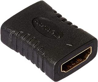 AmazonBasics HDMI Coupler,Black