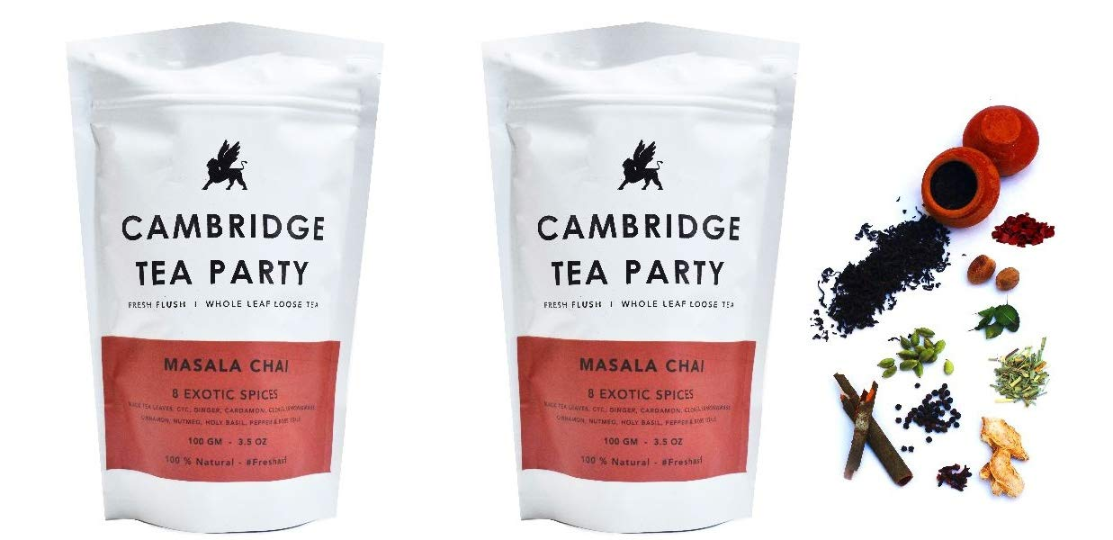 Very popular Cambridge Tea Party 8 latest Spices Masala Powder r Chai Patti with