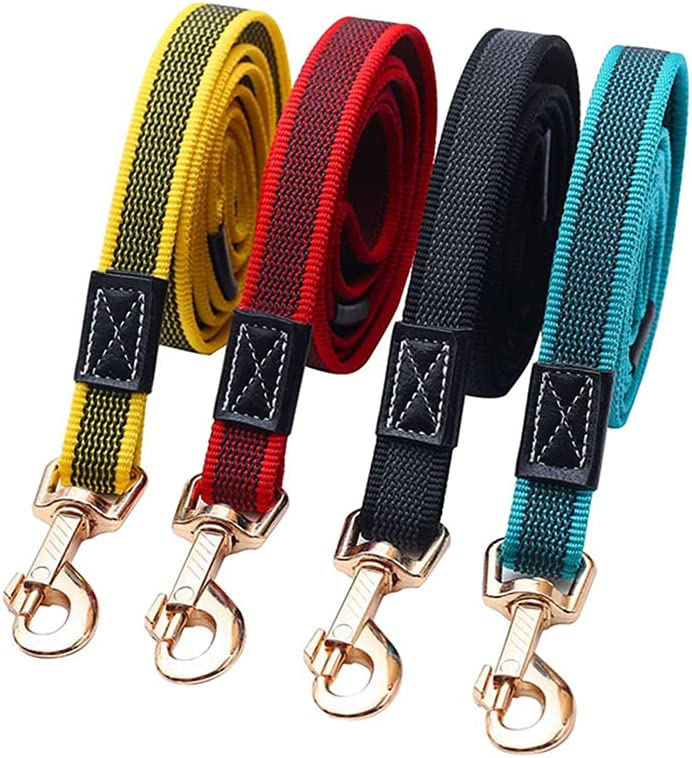 Long San Diego Mall Dog Leash for Pet Lead Training Rubber Non-Slip Our shop OFFers the best service Walk Nylon