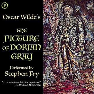 The Picture of Dorian Gray                   By:                                                                                                                                 Oscar Wilde                               Narrated by:                                                                                                                                 Stephen Fry                      Length: 5 hrs and 16 mins     107 ratings     Overall 4.7