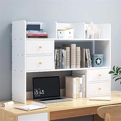 Mini estantes de madera para escritorio Madera De ...