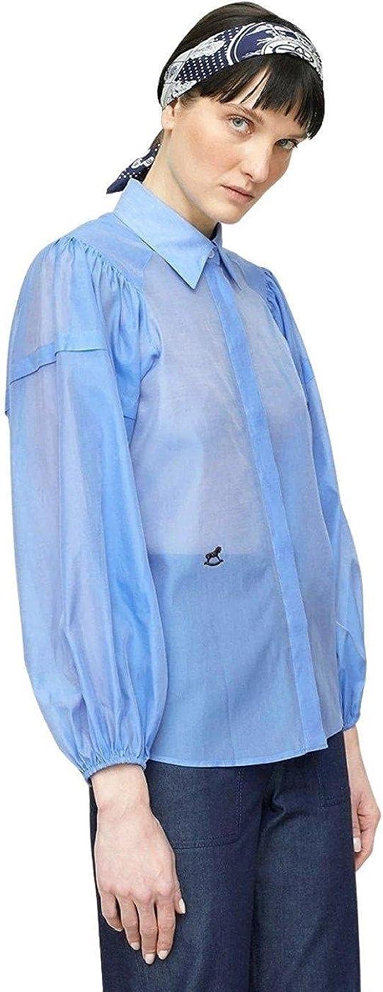 Mirto Camisa Azul para Mujer