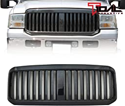 Tidal Replacement Front Hood Grille Full ABS Upper Grill for 05-07 Ford F250/F350/F450 Super Duty
