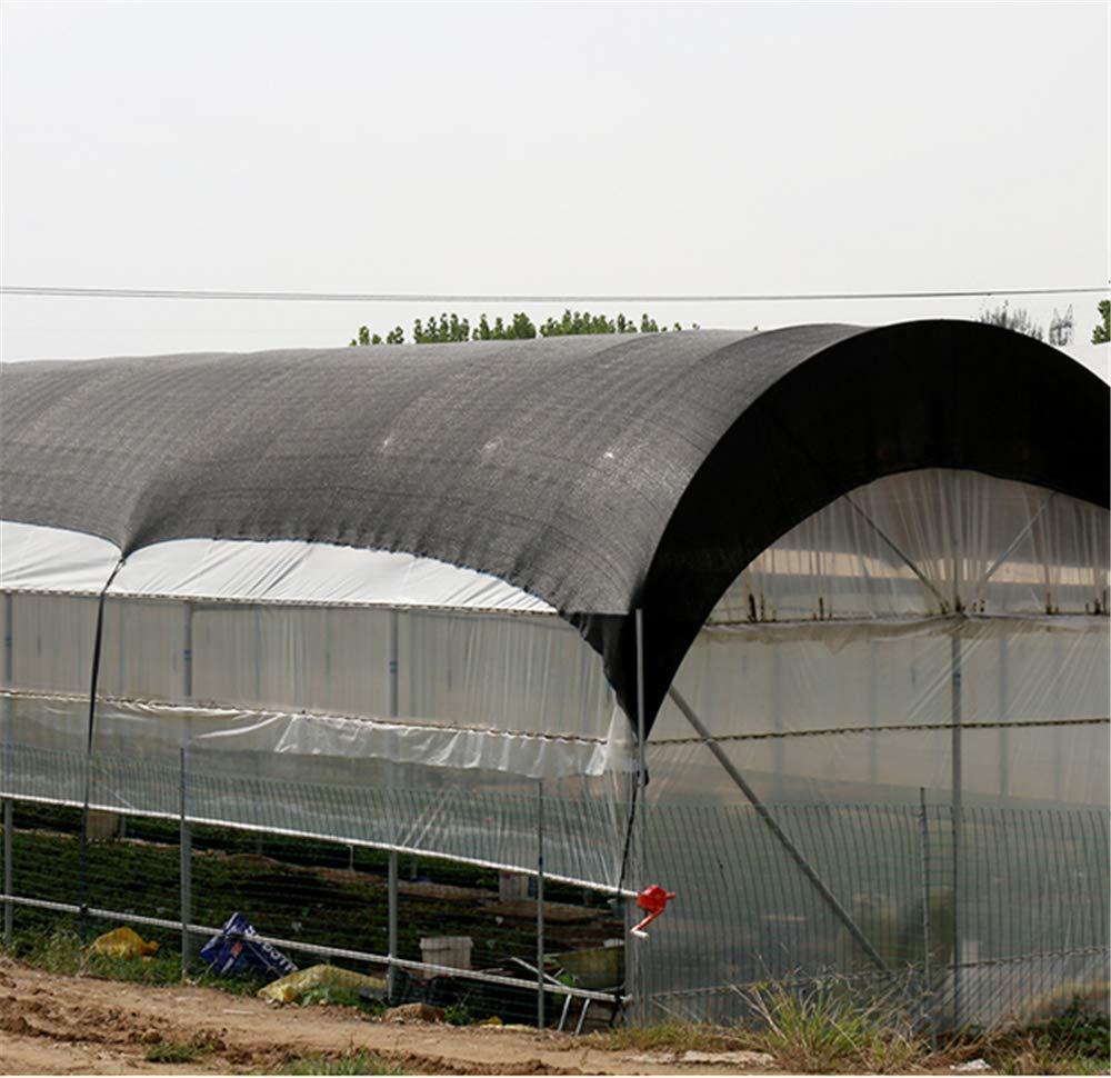 ZMXZMQ Cobertura UV De 85% De Tela De Sombra Negra para Jardinería, para La Cubierta Vertical De La Pérgola del Pórtico,6pin3*50m: Amazon.es: Hogar
