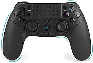 Mando Inalámbrico para PS4 - FAGORY Controlador PS4 Mando de juegos inalámbrico Gamepad Bluetooth, Playstation 4 Joystick de doble vibración para PS4 / PS4 Slim / PS4 Pro / PS3 / PC (Windows 7/8/10)