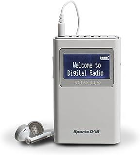 Roberts Radio Sports DAB5 DAB/DAB+/FM Personal Digital Radio - White