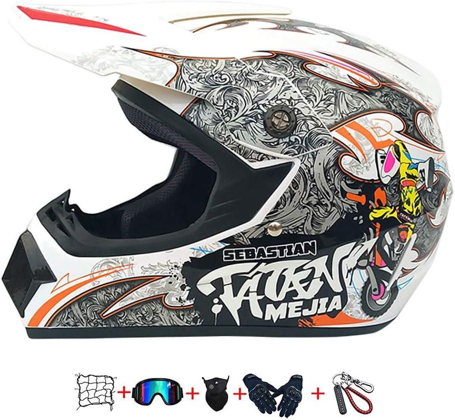 Child Motorcycle New popularity Regular dealer Helmet Cross Goggl ,
