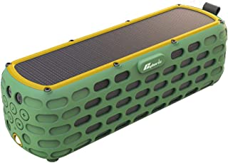 Docooler Speaker ES-T63 Waterproof Solar Bluetooth 4.0 Speaker Wireless HiFi Speaker with LED Light for Outdoors Climbing ...