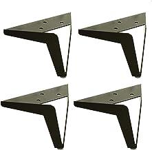 Furniture legs 130 mm hoogte, beenafsluiting van metaal, reservepoten, accessoires, hardware, triangel, 4 stalen poten, zi...