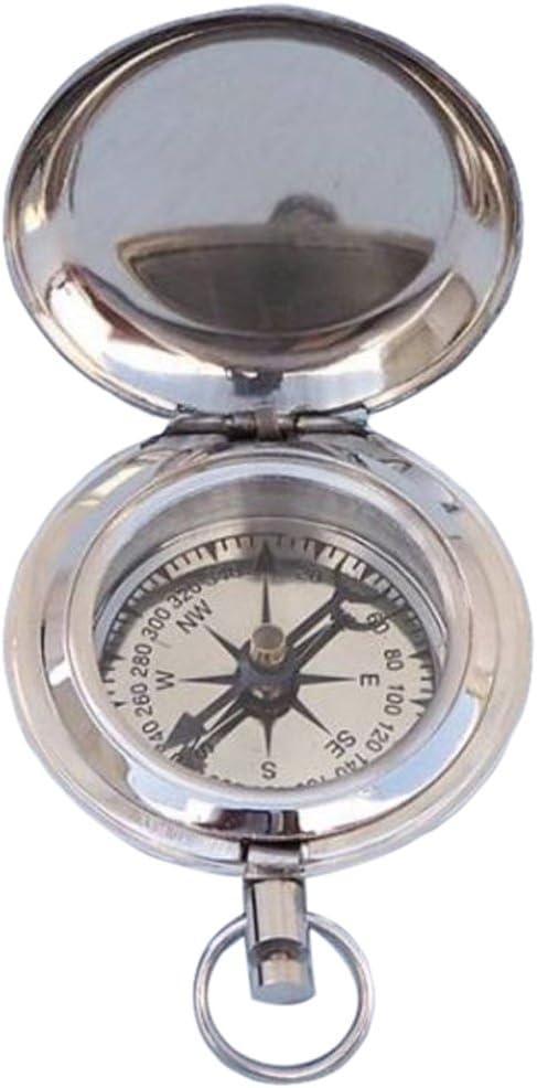 Hampton Sale item Nautical CO-0902-CH Chrome Memphis Mall Anchor Button Co Push Scout's