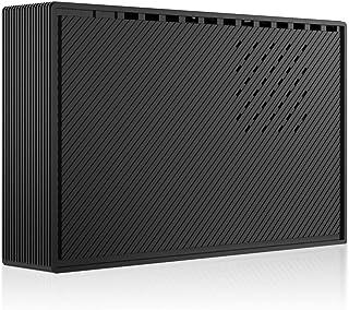 "MARSHAL 外付けハードディスク TV録画対応 3TB HDD PS4 4K 動作確認済 省エネ 6ヶ月 保証 USB3.0 ハードディスク 3.5"" MAL33000EX3-BK"