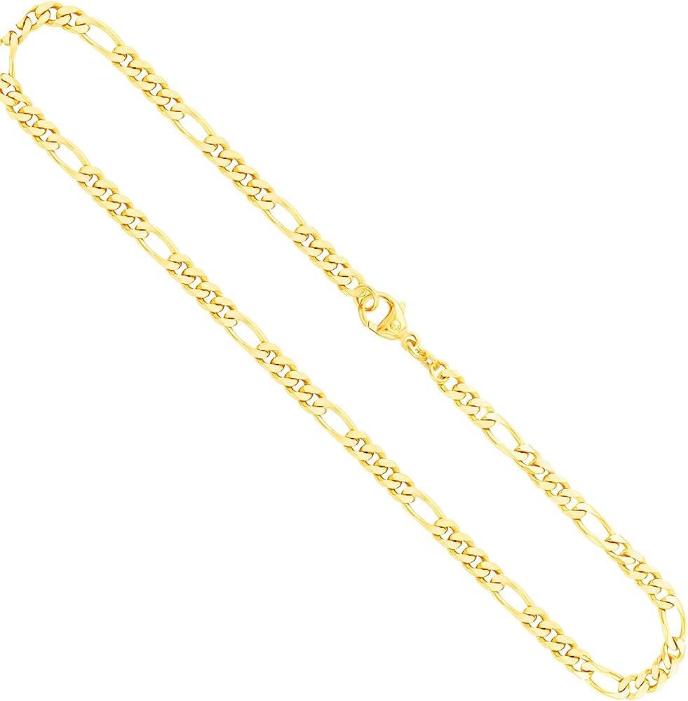 Edelweiss collana per uomo in oro giallo 14ct/585 o 8 ct/333  (22 gr) 70FBG0374