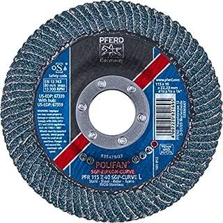 VSM 731278 0007682060120 Disque Abrasif sur Fibre C/éramique Grains 120 Rouge 180 mm