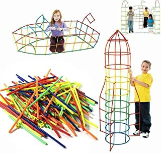 1200pcs Building Blocks Sensory Construction playsets for Kids, Toy Bead Art Craft
