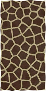 senya Towels, Animal Print Giraffe Texture Soft Hand Towel for Bathroom, Kitchen, Hotel Spa