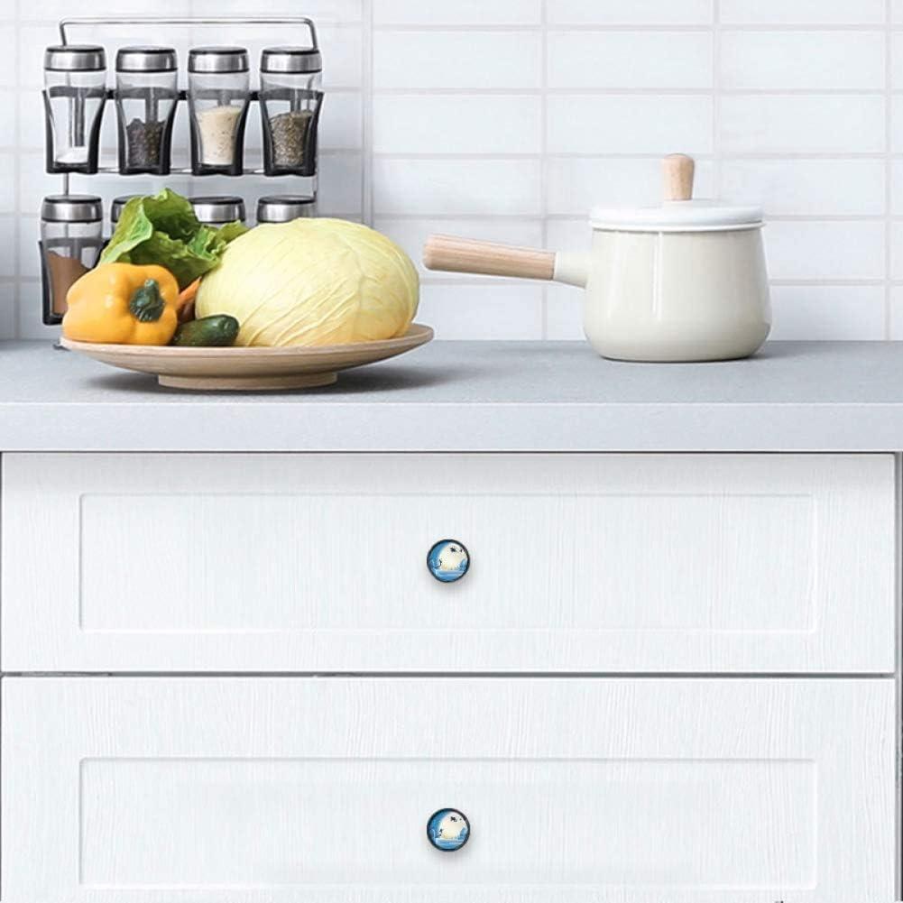4 service Pack Round Kitchen Cabinet Max 49% OFF Knobs Diame 100