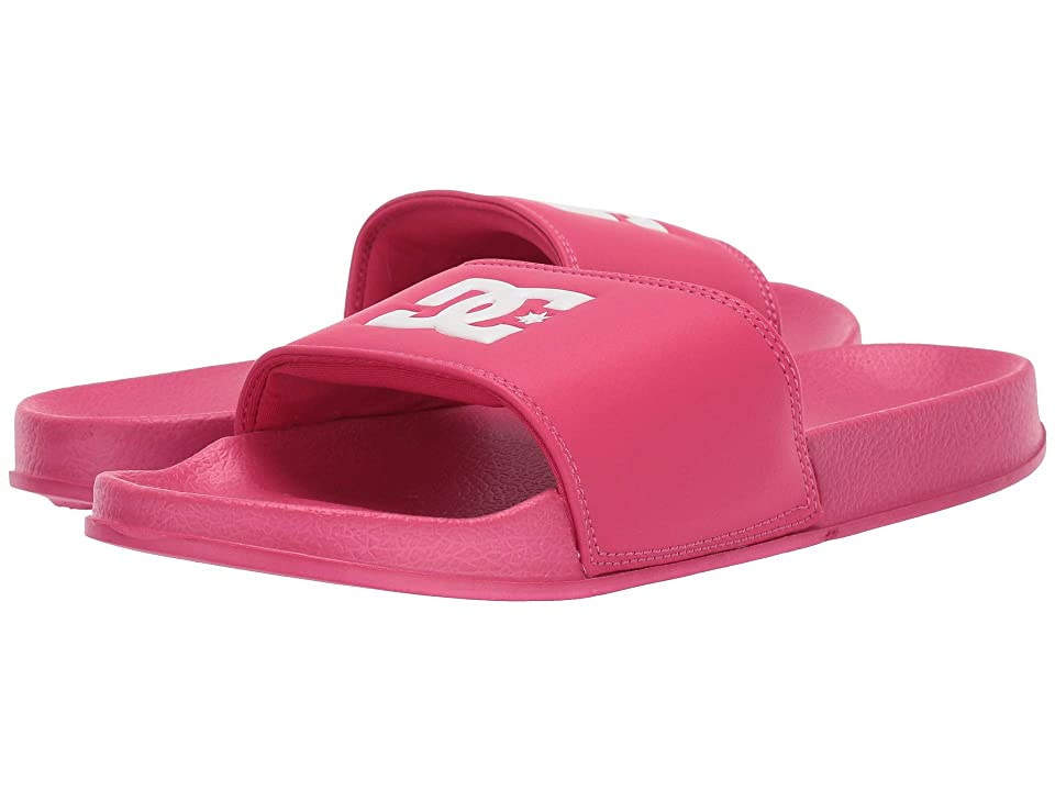 DC Kids DC Slide (Little Kid/Big Kid) (Crazy Pink) Girls Shoes