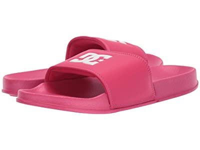 DC Kids DC Slide (Little Kid/Big Kid) (Crazy Pink) Girls Shoes