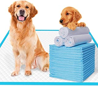 EZONEDEAL Extra-Large Pee Pads for Dogs Super Absorbent and Thicker Puppy Pads with New Quick-Drying Materials Potty Train...