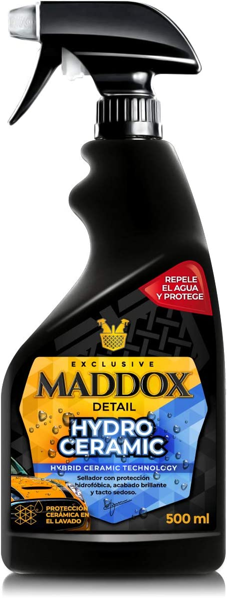 Maddox Detail - Hydro Ceramic - Tratamiento cerámico para la Pintura con Efecto hidrofóbico. Sella, Protege y abrillanta.