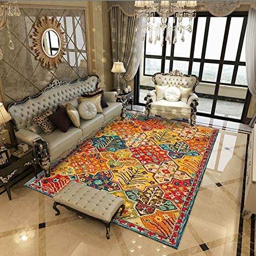 Round Ball Area Rug Carpet Living Room Carpet Edge Thickness Washable Soft Touch Carpet For Hallways Carpet Living Room Carpet Bedroom Kitchen 160X200CM