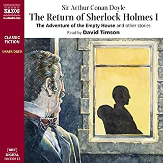 The Return of Sherlock Holmes I cover art