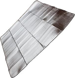 MagiDeal Aluminum Foil Waterproof Mat For Outdoor Camping Picnic Aluminum Mat - Various Sizes - Silver, 150x200cm