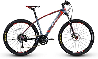 HXSD Mountain Bike, Bicycle, Adult Off-Road Variable Speed Bicycle, Hydraulic Disc Brake - 27.5 Inch Wheel Diameter