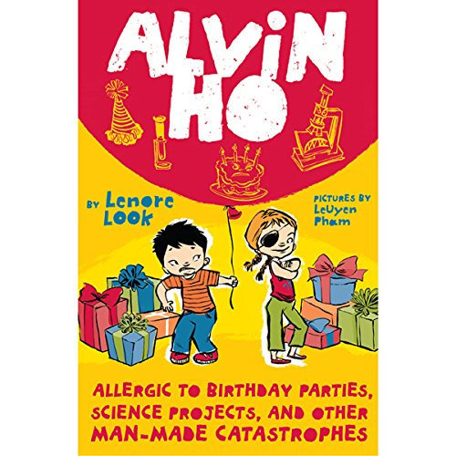 Alvin Ho audiobook cover art