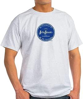 CafePress Clarksdale Juke Joint Blue Label Cotton T-Shirt