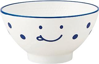 竹中 日本製 茶碗 ノーティ キッズ ブルー φ10.5×5.3 T-46522