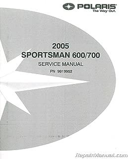 9919952 2005 Polaris Sportsman 600 700 Twin Service Manual