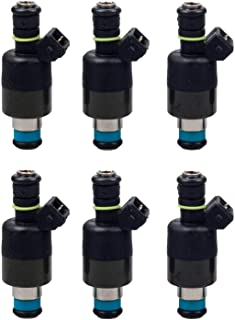 MOSTPLUS Fuel Injectors 17089569 For Chevrolet 2.8 3.1 3.3 1985-1993 (Set of 6)
