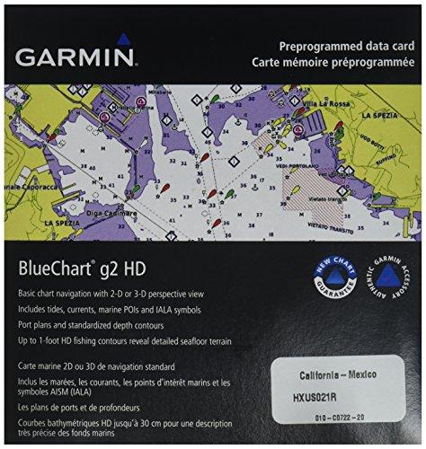 GARMIN BLUECHART G2 HXUS021R CALIFORNIA - MEXICO MICROSD