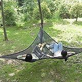 Hammock Triángulo Grande   Hamaca de camping   Multipersona Hammock portátil Hanging Chair Seat para patio trasero, terraza, jardín, camping, viajes, carga máxima 100 kg