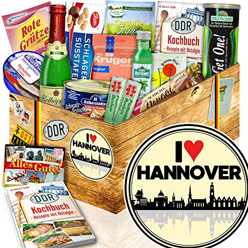 I love Hannover / Hannover Geburtstagsüberraschung / Spezialitäten DDR Box