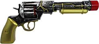 Nicky Bigs Novelties Steampunk Retro Revolver Gun Cosplay Halloween Accessory Prop, Multi-Color, One Size
