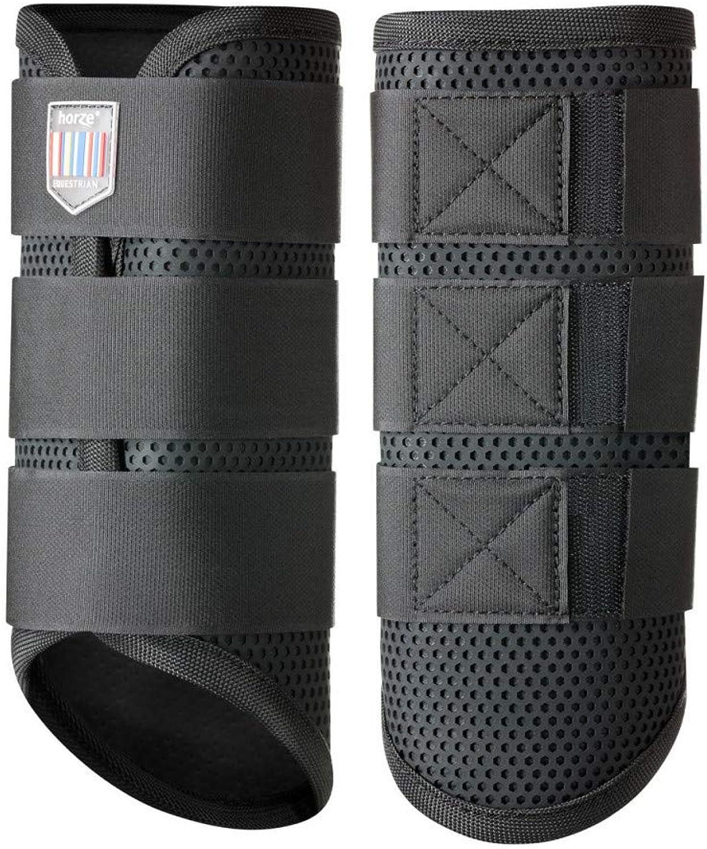 Horze Impact Flexi Strike Guard Boots, Rear