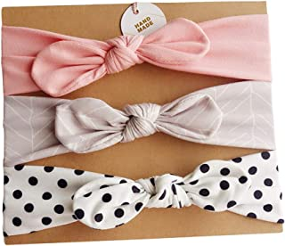Wimagic 1/x Baby Fiore Fascia per Neonate Morbido Elastico per Cute Elegante Copricapo Capelli Accessori per Neonati e Bambini Panno Blue 35cm