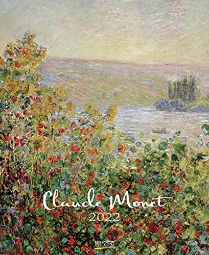 Claude Monet 2022: Kunstkalender mit Werken des Künstlers Claude Monet, Impressionismus. Wandkalender im Format: 36 x 44 cm.