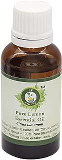 Essential Huile essentielle citron pur 10ml  0 338oz  Citrus Limonum  100  Pur naturelle Distillee vapeur  Pure Lemon Essential Oil