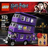 LEGO Harry Potter The Knight Bus (4866) (Age: 7 - 12 Years) The Awesome Triple-Decker Knight Bus Features Wheels That Really roll!