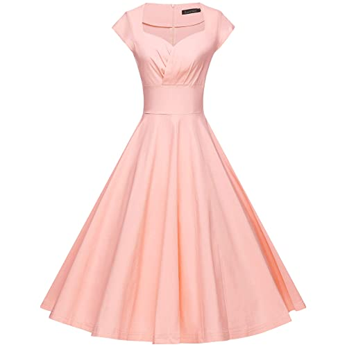 5f39eccc74c GownTown Womens Dresses Party Dresses 1950s Vintage Dresses Swing Stretchy  Dresses