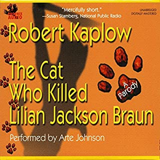 The Cat Who Killed Lilian Jackson Braun audiobook cover art