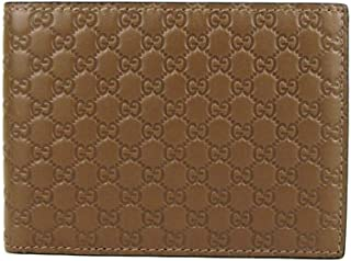 Gucci Men's Brown Microguccissima Leather Bi-fold Wallet 275896 2527