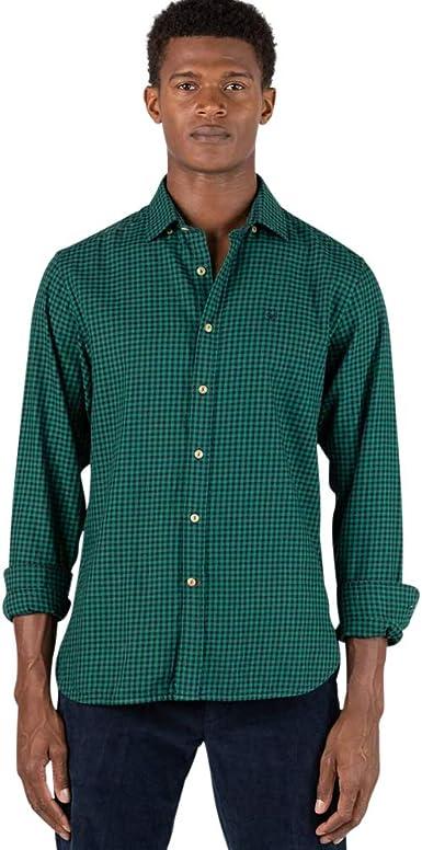 El Ganso 2 Camisa casual, Azul (Indigo 0060), X-Large para ...